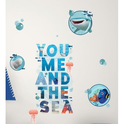 Finding Dory and Friends Peel and Stick Wall Decals RMK3297SCS