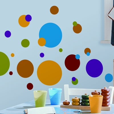 Room Mates Studio Designs 31 Piece Just Dots Wall Decal RMK1248SCS