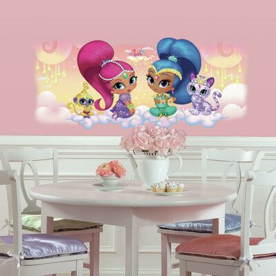 Shimmer and Shine Burst Giant Wall Decal RMK3162GM