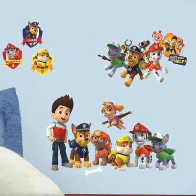 Popular Characters Paw Patrol Wall Decal RMK2640SCS