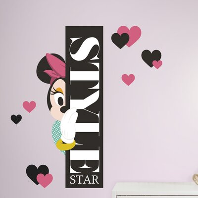 Minnie Style Star Peel and Stick Giant Wall Decal RMK3069TB