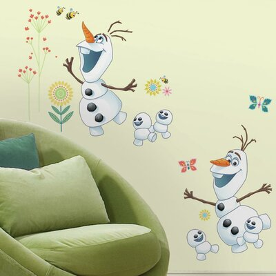 Disney Frozen Fever Olaf Peel and Stick Wall Decal RMK3019SCS