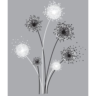 Deco Graphic Dandelion Giant Wall Decal RMK1775GM