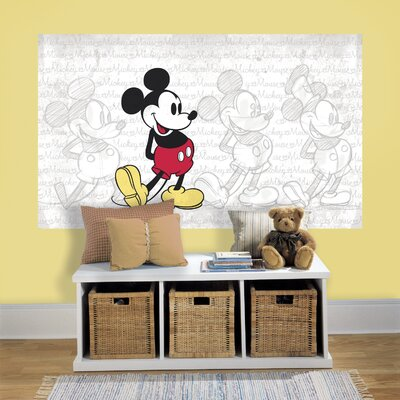 Mickey Mouse Wall Decal RMK3430PSM