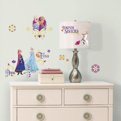 Popular Characters Frozen Spring Wall Decal RMK2652SCS