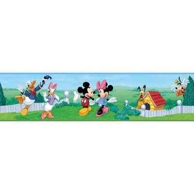 Wall Borders  Kitchen on Licensed Designs Mickey And Friends Wall Border