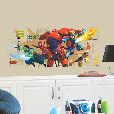 Room Mates Popular Characters Big Hero 6 Wall Decal RMK2633GM