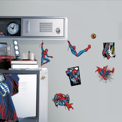 Spider Man Ultimate Comic Peel and Stick Wall Decal RMK4453SCS