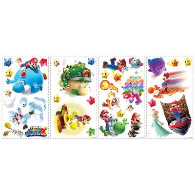 Room Mates Popular Characters Mario Galaxy 2 Wall Decal 871SCS