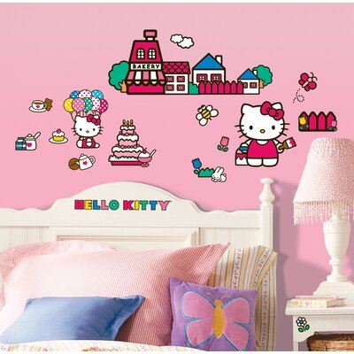 32 Piece World of Hello Kitty Wall�Decal RMK1678SCS