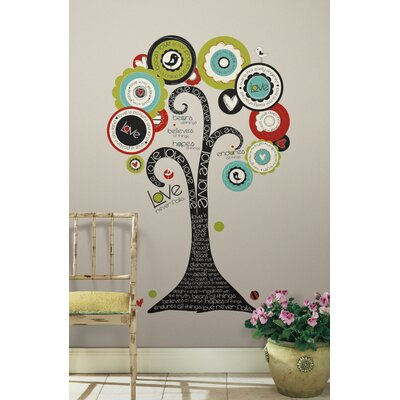 Peel & Stick Giant Tree of Hope Wall Decal