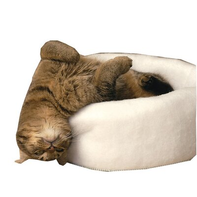 Dale Cat Bed Color: White