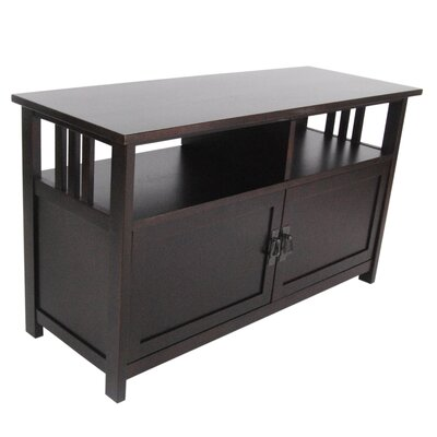Craftsman 42 TV Stand Color: Espresso