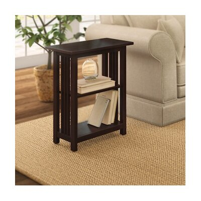Craftsman End Table Color: Espresso