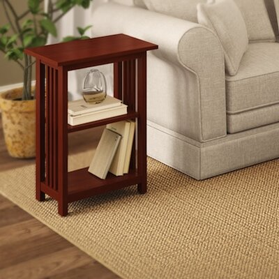 Craftsman End Table Finish: Cherry