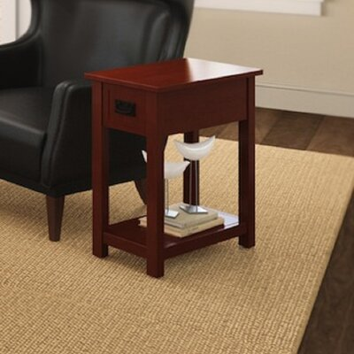 Craftsman Chairside Table Color: Cherry
