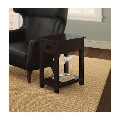 Craftsman Chairside Table Finish: Espresso