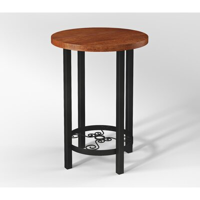 Carrollton Scrollwork Round End Table