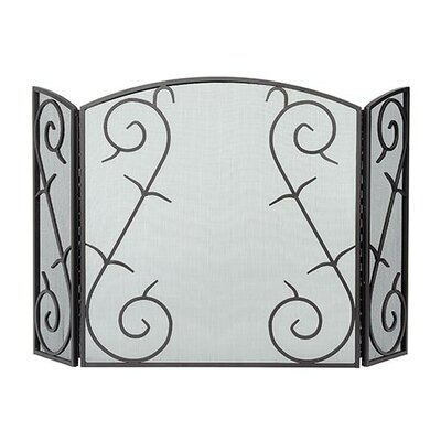 Rent 3 Panel Wrought Iron Fireplace Scre...