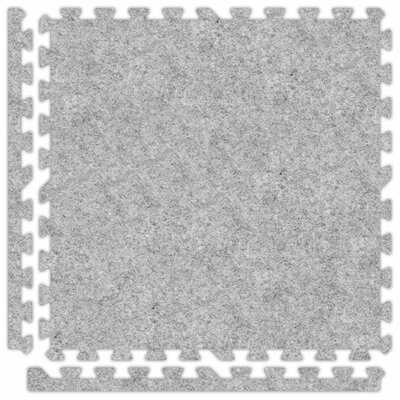 SoftCarpets Set in Smoke Size: 12 x 12