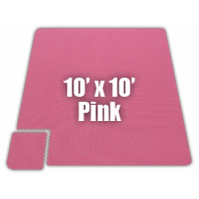 Premium SoftFloors Set in Pink Size: 16 x 16