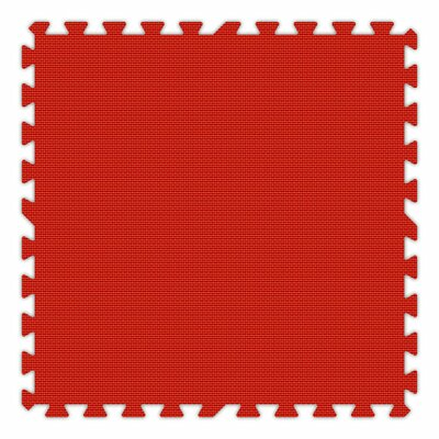 Premium SoftFloors Set in Red Size: 8 x 8