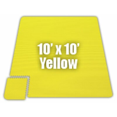 Premium SoftFloors Set in Yellow Size: 10 x 16