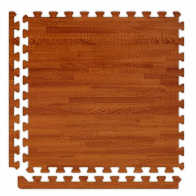 SoftWoods Set in Red Oak Size: 12 x 12