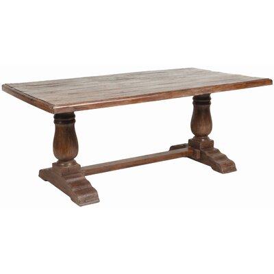 Classic Home Cambria Trestle Table Size 78 Ghm1952