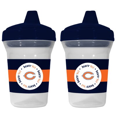 Baby Fanatic NFL Sippy Cup (Set of 2) - NFL Team: Chicago Bears at Sears.com