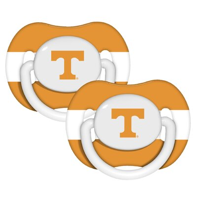 Baby Fanatic NCAA 2 Pack Baby Pacifiers - NCAA Team: Tennessee at Sears.com