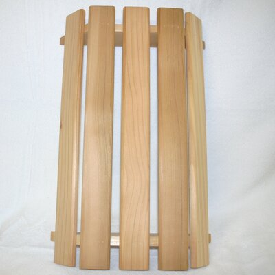 "12"" Cedar Novelty Wall Sconce Shade"