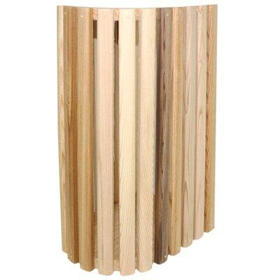 "6"" Cedar Novelty Wall Sconce Shade"