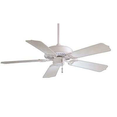 42 Sundance 5-Blade Indoor / Outdoor Ceiling Fan Finish: White with White Blades