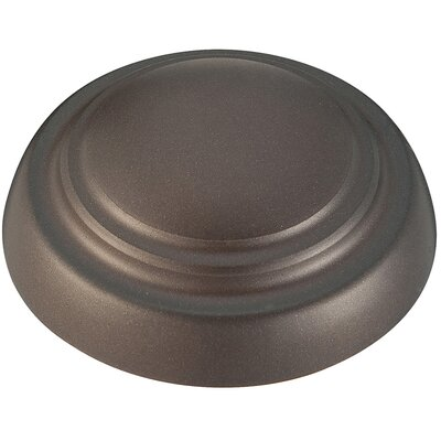 Universal Ceiling Fan Light Kit Cap (Set of 2) Finish: Oil Rubbed Bronze