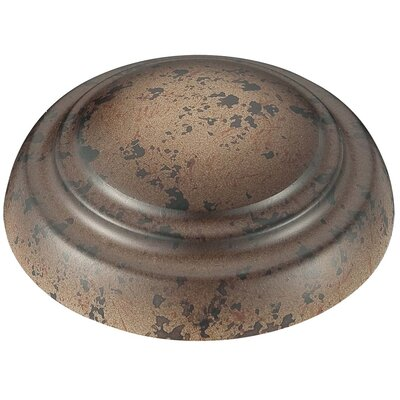 Universal Ceiling Fan Light Kit Cap (Set of 2) Finish: Caterra Bronze
