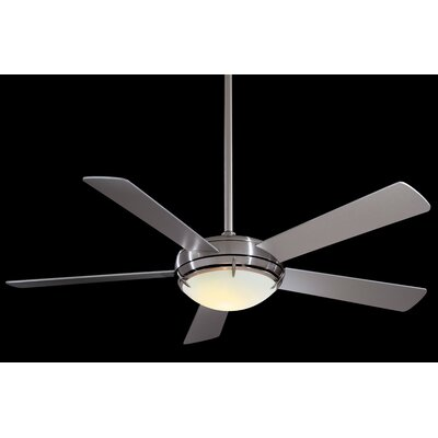 54 Como 5 Blade Contemporary LED Ceiling Fan Finish: White with High Gloss White Blades