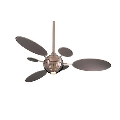 54 George Kovacs 6 Blade LED Ceiling Fan Finish: Brushed Nickel