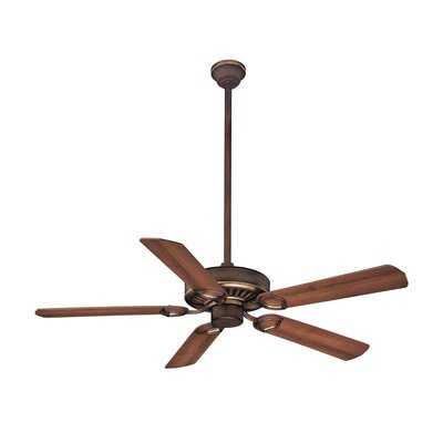 54 Ultra 5-Blade Ceiling Fan Finish: Belcaro Walnut with Dark Walnut Blades