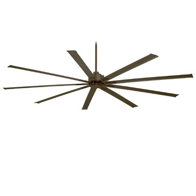 96 Xtreme 9 Blade Ceiling Fan Finish: Oil Rubbed Bronze
