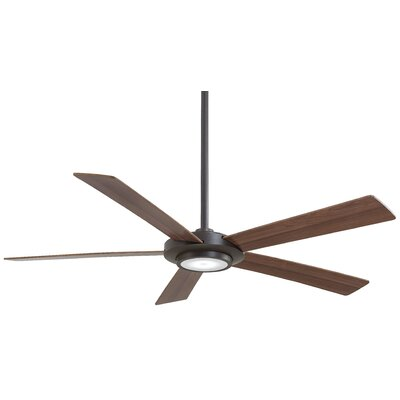 52 Sabot 5 Blade LED Ceiling Fan Finish: Oil Rubbed Bronze