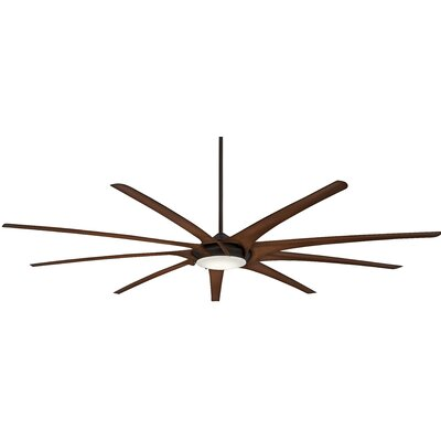 99 Ninety Nine 9 Blade Ceiling Fan Finish: Oil Rubbed Bronze with Tobacco Blades