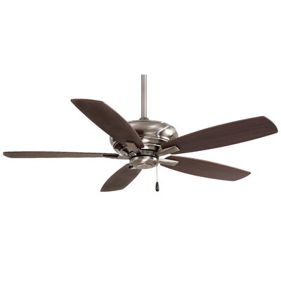 52 Kola 5-Blade Ceiling Fan Finish: Pewter