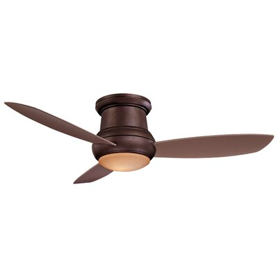 52 Concept II 3 Blade Outdoor LED Ceiling Fan Finish: Oil Rubbed Bronze