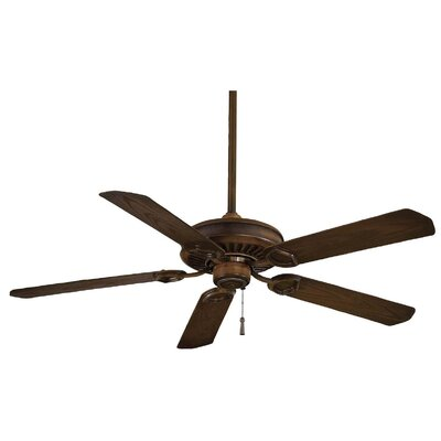 54 Sundowner 5-Blade Indoor / Outdoor Ceiling Fan Finish: Mossoro Walnut with Mossoro Walnut Blades