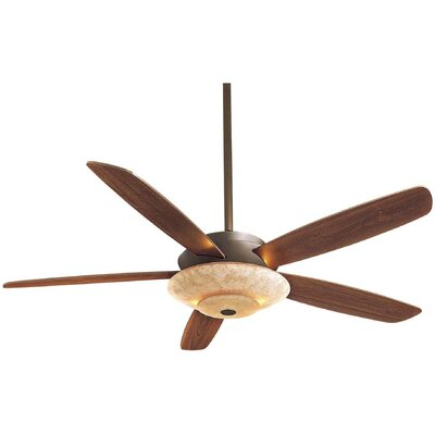 54 Airus 5 Blade LED Ceiling Fan Finish: Oil Rubbed Bronze with Medium Maple Blades