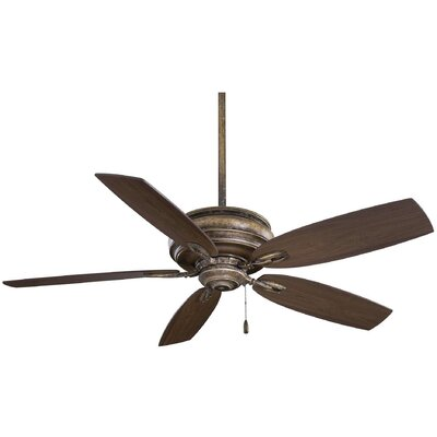 54 Timeless 5-Blade Ceiling Fan Finish: French Beige with Maple Blades