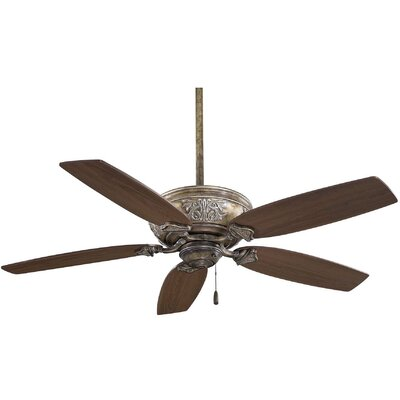 54 Classica 5-Blade Ceiling Fan Finish: Beige with Maple Blades