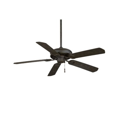 54 Sundowner 5-Blade Indoor / Outdoor Ceiling Fan Finish: White with White Blades