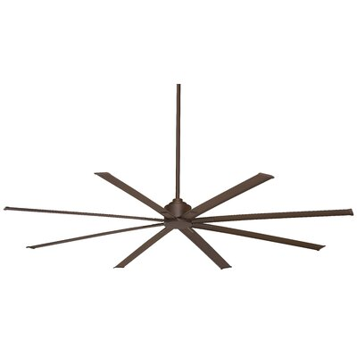 84 Xtreme 8 Outdoor Ceiling Fan with Remote Finish: Oil Rubbed Bronze